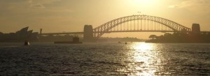Harbour Bridge am Abend