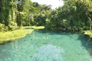 Weg zur Blue Lagoon