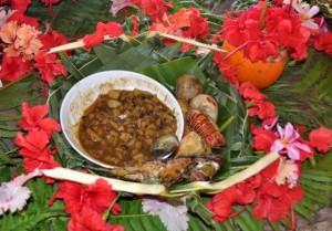 Muschelsuppe, Fisch und was der Garten sonst noch bietet