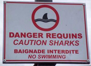 Warnschilder sind gut ...