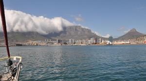 Blick auf Capetown