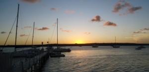 Abb. 3: Blick vom Yachtclub