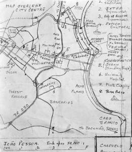 Map 4: Küste Joao Pessoa