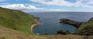 eingestürzte Krater von Monte da Guia