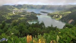 Lago Azul u. Lago Verde