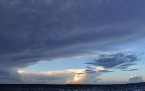 Gewitter über Menorca