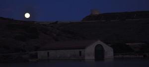 Mondaufgang über Cala Taulera