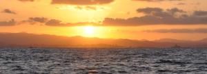 Sonnenaufgang über Trapani