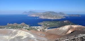 Rundumblick auf Liapari und Salina